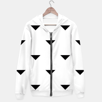 Thumbnail image of Triangles Hoodie, Live Heroes