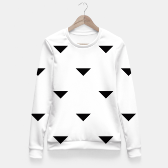 Thumbnail image of Triangles Fitted Waist Sweater, Live Heroes