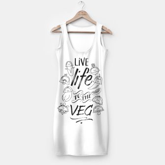 Thumbnail image of Live Life to the Veg Simple Dress, Live Heroes