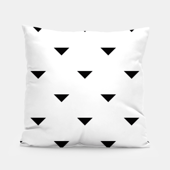 Thumbnail image of Triangles Pillow, Live Heroes