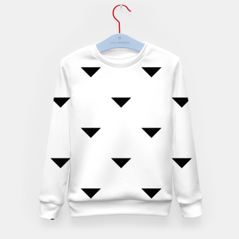 Thumbnail image of Triangles Kid's Sweater, Live Heroes