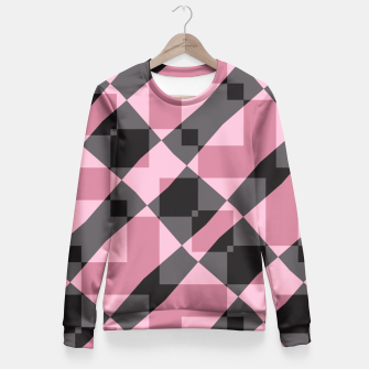 Thumbnail image of Pink Shadows Fitted Waist Sweater, Live Heroes