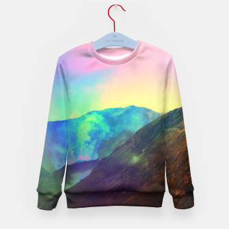 Miniature de image de Echoes of Silence Kid's Sweater, Live Heroes