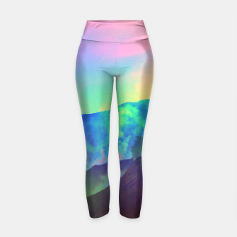 Thumbnail image of Echoes of Silence Yoga Pants, Live Heroes