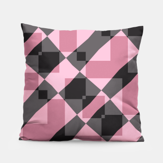 Thumbnail image of Pink Shadows Pillow, Live Heroes