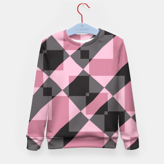 Thumbnail image of Pink Shadows Kid's Sweater, Live Heroes