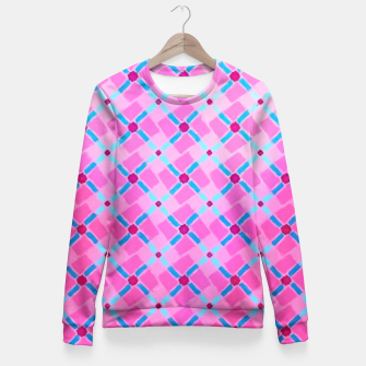 Thumbnail image of Summer Pink  Fitted Waist Sweater, Live Heroes