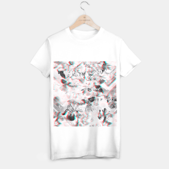 Thumbnail image of Tropical glitch Camiseta Regular, Live Heroes