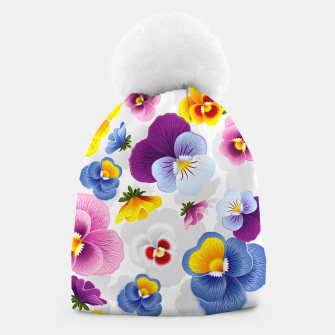 Thumbnail image of Bloom Floral Beanie, Live Heroes