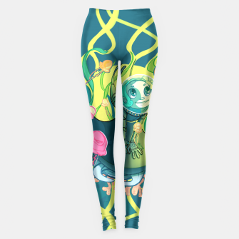 Thumbnail image of The Joy of Discovery Leggings, Live Heroes