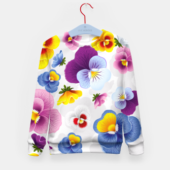 Thumbnail image of Bloom Floral Kid's Sweater, Live Heroes