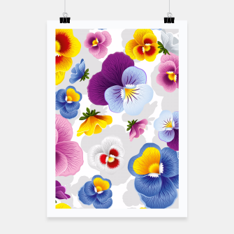 Thumbnail image of Bloom Floral Poster, Live Heroes
