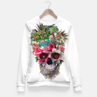 Thumbnail image of Summer Skull IV Fitted Waist Sweater, Live Heroes