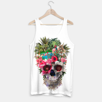 Thumbnail image of Summer Skull IV Tank Top, Live Heroes
