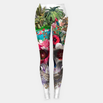 Thumbnail image of Summer Skull IV Leggings, Live Heroes