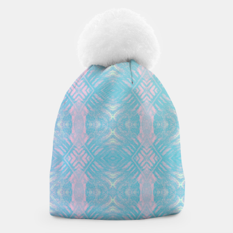 Thumbnail image of Colorful Abstract Pattern Beanie, Live Heroes