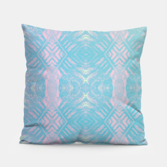 Thumbnail image of Colorful Abstract Pattern Pillow, Live Heroes