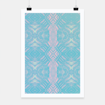 Thumbnail image of Colorful Abstract Pattern Poster, Live Heroes