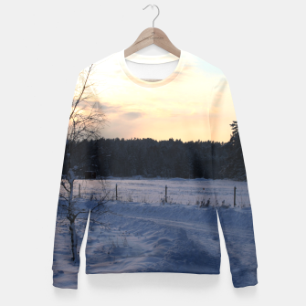 Thumbnail image of Winter Fitted Waist Sweater, Live Heroes