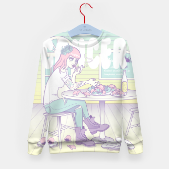 Thumbnail image of Cancer Kid's Sweater, Live Heroes