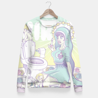 Thumbnail image of Virgo Fitted Waist Sweater, Live Heroes