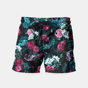 Thumbnail image of Night Garden VII Swim Shorts, Live Heroes