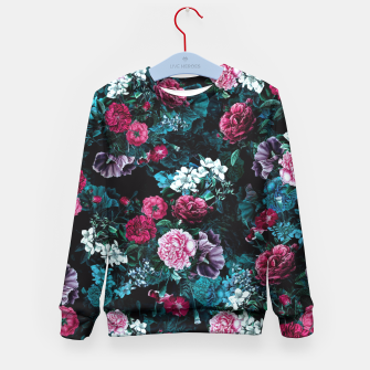 Thumbnail image of Night Garden VII Kid's Sweater, Live Heroes