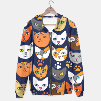 Thumbnail image of Kitty Cats Everyday Caturday Hoodie, Live Heroes
