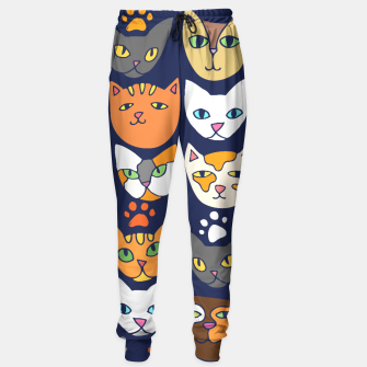 Thumbnail image of Kitty Cats Everyday Caturday Sweatpants, Live Heroes