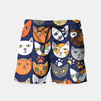 Thumbnail image of Kitty Cats Everyday Caturday Swim Shorts, Live Heroes