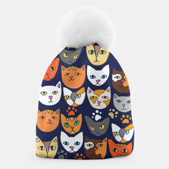 Thumbnail image of Kitty Cats Everyday Caturday Beanie, Live Heroes