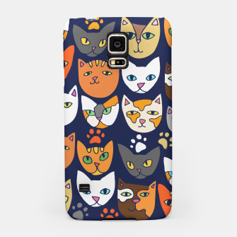 Thumbnail image of Kitty Cats Everyday Caturday Samsung Case, Live Heroes