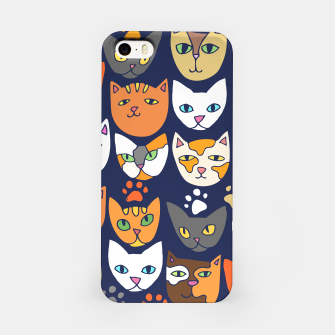 Thumbnail image of Kitty Cats Everyday Caturday iPhone Case, Live Heroes
