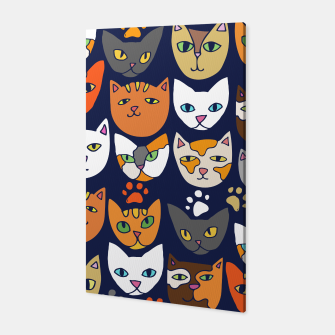 Thumbnail image of Kitty Cats Everyday Caturday Canvas, Live Heroes