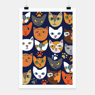 Thumbnail image of Kitty Cats Everyday Caturday Poster, Live Heroes