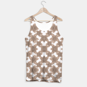 Thumbnail image of Stylized Leaves Floral Collage Tank Top, Live Heroes