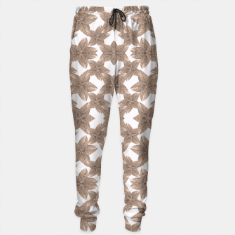 Thumbnail image of Stylized Leaves Floral Collage Sweatpants, Live Heroes