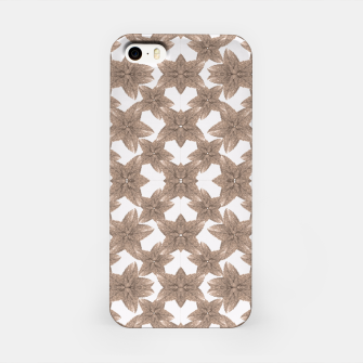 Thumbnail image of Stylized Leaves Floral Collage iPhone Case, Live Heroes