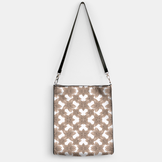 Thumbnail image of Stylized Leaves Floral Collage Handbag, Live Heroes