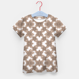 Thumbnail image of Stylized Leaves Floral Collage Kid's T-shirt, Live Heroes