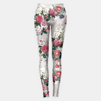 Thumbnail image of Beautiful Flowers Leggings, Live Heroes