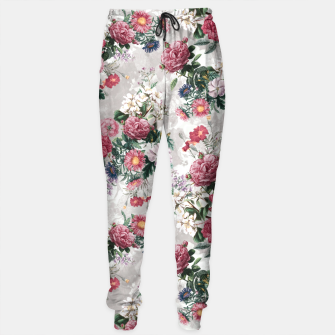 Thumbnail image of Beautiful Flowers Sweatpants, Live Heroes