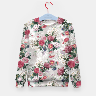Thumbnail image of Beautiful Flowers Kid's Sweater, Live Heroes