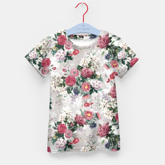 Thumbnail image of Beautiful Flowers Kid's T-shirt, Live Heroes