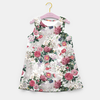 Thumbnail image of Beautiful Flowers Girl's Summer Dress, Live Heroes