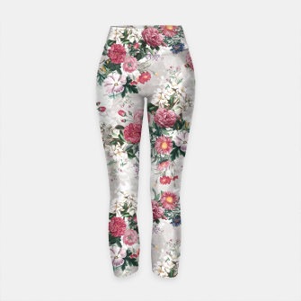Thumbnail image of Beautiful Flowers Yoga Pants, Live Heroes