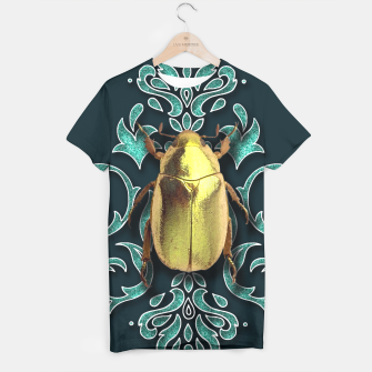 Thumbnail image of GOLD BEETLE  T-shirt, Live Heroes