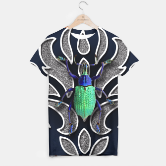 Thumbnail image of GREEN BEETLE T-shirt, Live Heroes