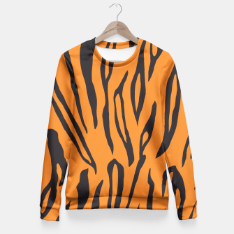 Thumbnail image of Tiger Skin Fitted Waist Sweater, Live Heroes