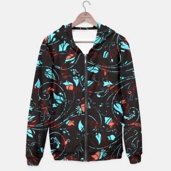 Thumbnail image of Black with Colors  Hoodie, Live Heroes